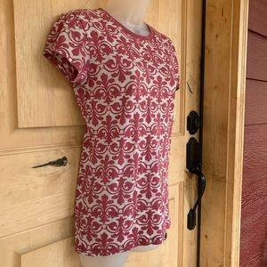 LOL Vintage T-shirt, Fleur de lis pattern